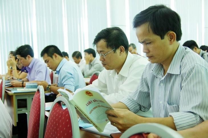 Sở KH&ĐT tỉnh Bắc Ninh đề xuất, xem xét cơ chế khen thưởng các cá nhân, tổ chức thực hiện nghiêm lộ trình đấu thầu qua mạng, đồng thời có chế tài phù hợp đối với cơ quan, đơn vị thực hiện không đảm bảo quy định. Ảnh: Tiên Giang