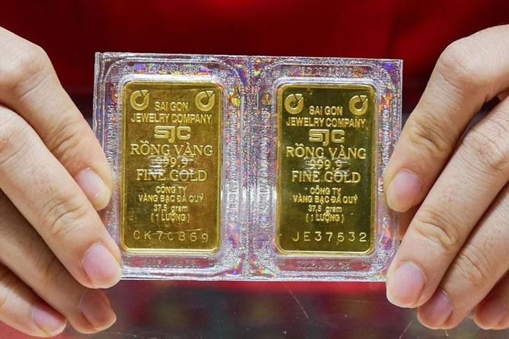 Giá vàng SJC từ đầu năm đến nay tăng khoảng 2,67%. Ảnh: Độc Lập