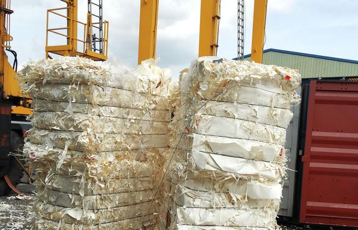 Có 5 tiêu chí lựa chọn cơ sở được cấp Giấy xác nhận đủ điều kiện về bảo vệ môi trường trong nhập khẩu phế liệu làm nguyên liệu sản xuất tham gia đấu giá các lô hàng phế liệu tồn đọng. Ảnh: Nguyễn Nga