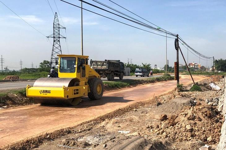 Từ năm 2016 đến nay, Công ty CP Sông Đà Hà Nội được công bố trúng 9 gói thầu xây lắp đều trên địa bàn tỉnh Nam Định. Ảnh minh họa: Nhã Chi