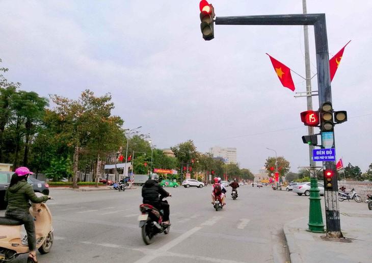 Hồ sơ mời thầu yêu cầu, phần mềm công nghệ hệ thống điều khiển đèn tín hiệu giao thông tự động phải có chứng nhận bản quyền của Cục Bản quyền tác giả. Ảnh minh họa: MQ st