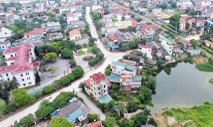 Dự án Khu nhà ở đô thị phía Nam thị trấn Hạ Hòa, huyện Hạ Hòa (tỉnh Phú Thọ) có sơ bộ tổng chi phí thực hiện khoảng 780 tỷ đồng. Ảnh: N. Oanh