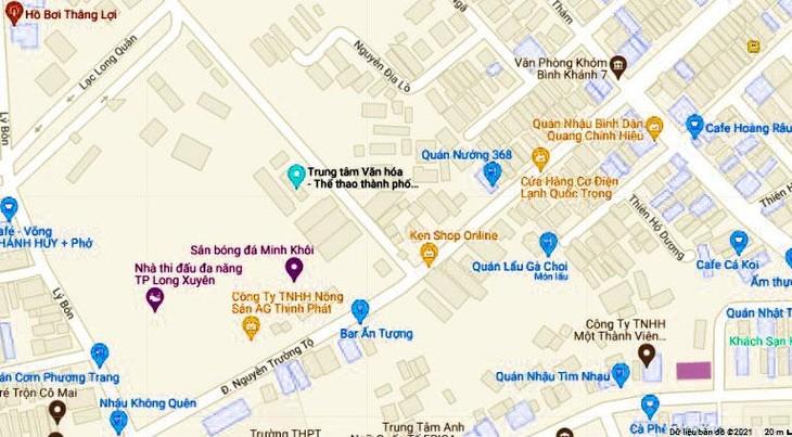 Dự án Trung tâm thương mại hơn 1.000 tỷ tại An Giang: Hủy kết quả đấu thầu, tổ chức đấu giá
