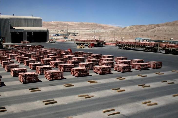 Một mỏ đồng của BHP Billiton ở Chile - Ảnh: Reuters.