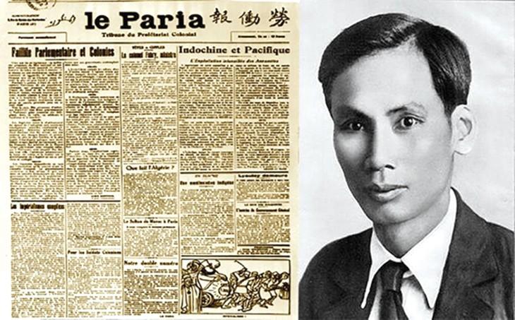 """Bác Hồ đã viết hàng trăm bài báo trên tờ """"Người Cùng Khổ"""" với mục tiêu là vạch trần bộ mặt của chủ nghĩa thực dân, thúc đẩy phong trào đấu tranh cách mạng, giải phóng các dân tộc bị thuộc địa"""
