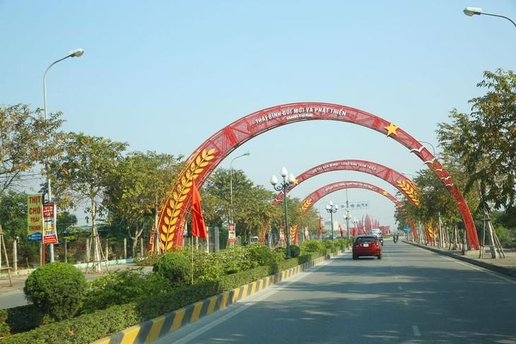 Dự án Đầu tư xây dựng công trình tuyến đường từ thành phố Thái Bình qua cầu Tịnh Xuyên đến huyện Hưng Hà, tỉnh Thái Bình có tổng mức đầu tư 586,6 tỷ đồng. Ảnh minh họa: Nhã Chi