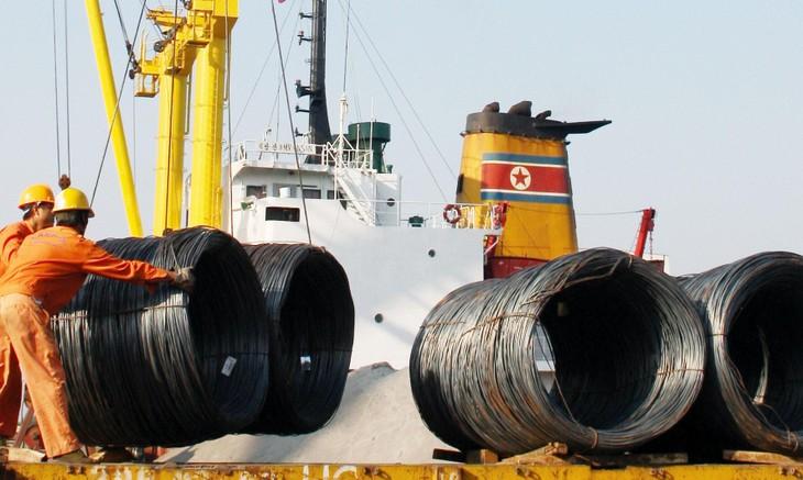 Công ty TNHH Thép Việt Nga hoạt động chính trong lĩnh vực buôn bán sắt thép, đặc biệt ở khu vực phía Nam. Ảnh: Hoài Tâm