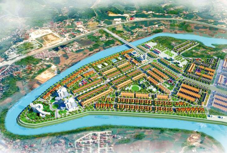 Dự án Khu ở mới sinh thái sông Kỳ Cùng, xã Mai Pha, TP. Lạng Sơn có sơ bộ tổng chi phí thực hiện là 322,7 tỷ đồng. Ảnh: Thùy Linh