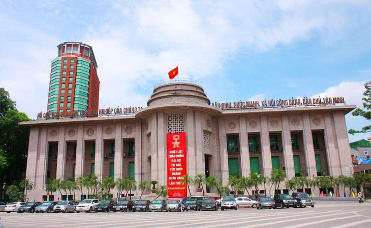 Năm 2020, Ngân hàng Nhà nước là đơn vị có Chỉ số cải cách hành chính cao nhất (95,88%) trong 17 bộ, cơ quan ngang bộ. Ảnh: Lê Tiên