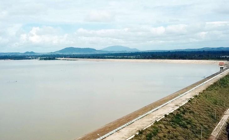 Dự án Hồ chứa Ia Mơr bị vướng vì có hệ thống kênh dẫn qua khu vực rộng lớn khoảng 8.500 ha là đất rừng chưa được chuyển đổi thành đất nông nghiệp. Ảnh: Tường Lâm