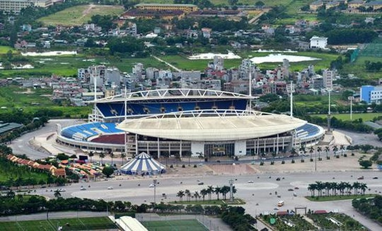 Thanh tra Chính phủ phát hiện nhiều sai phạm về đầu tư xây dựng cơ sở vật chất, sửa chữa cải tạo các công trình tại Khu Liên hợp thể thao quốc gia. Ảnh Internet