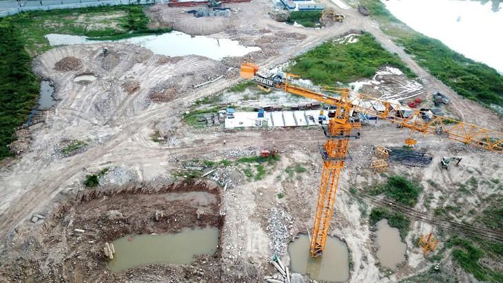 Khu đất Kho Việt Răng cũ (phần còn lại) tại TP. Quy Nhơn (Bình Định) được phê duyệt mục đích sử dụng đất là đất xây dựng nhà chung cư cao tầng. Ảnh: Nhã Chi