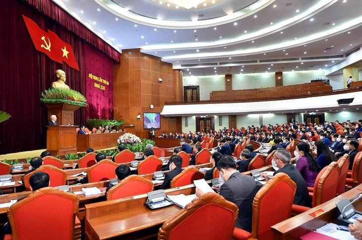 Toàn cảnh Phiên khai mạc Hội nghị lần thứ 3 Ban Chấp hành Trung ương Đảng khoá XIII. Ảnh: Quý Bắc