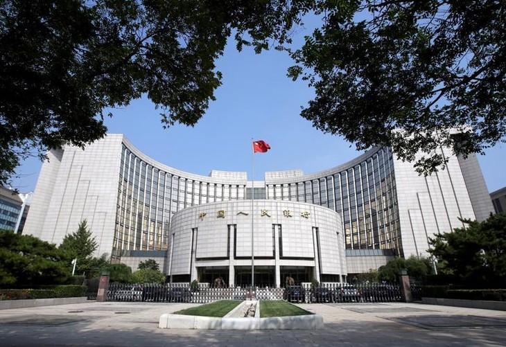 Trụ sở Ngân hàng Trung ương Trung Quốc (PBOC) tại Bắc Kinh - Ảnh: Reuters.