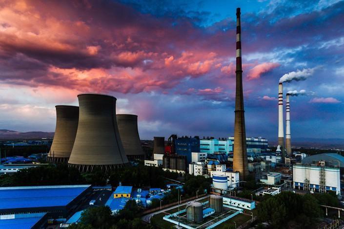 Nhiệt điện vẫn chiếm khoảng 60% sản lượng điện của Trung Quốc - Ảnh: Caixin.