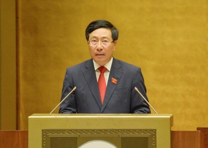 Phó Thủ tướng Chính phủ Phạm Bình Minh