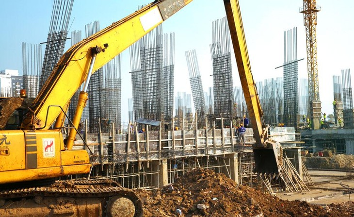 Các vụ việc tranh chấp trong lĩnh vực xây dựng gửi đến Trung tâm Trọng tài quốc tế Việt Nam xử lý mấy năm gần đây tăng nhanh, giá trị tranh chấp lên đến gần 10.000 tỷ đồng. Ảnh: Lê Tiên