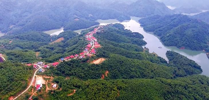 Tổng mức đầu tư của Đề án Ổn định dân cư, phát triển kinh tế - xã hội vùng tái định cư Thủy điện Sơn La thực hiện trên địa bàn tỉnh Sơn La là 5.141 tỷ đồng. Ảnh: Mùi Sơn