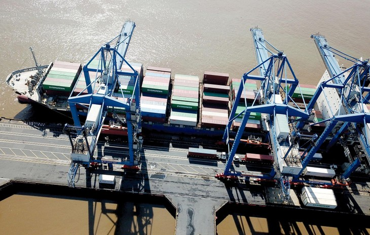 Gói thầu Đầu tư 2 cần trục chân đế kiểu quay sức nâng 45 tấn cho cảng Đình Vũ có giá dự toán 219,216 tỷ đồng. Ảnh minh họa: Tiên Giang