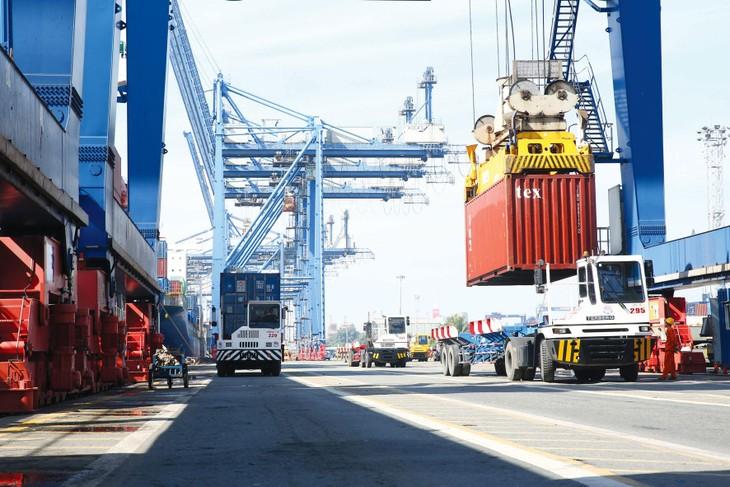 Bất chấp ảnh hưởng của dịch Covid-19, kim ngạch xuất khẩu hàng hóa 7 tháng năm 2021 ước tính đạt 185,33 tỷ USD, tăng 25,5% so với cùng kỳ năm trước. Ảnh: Tiên Giang