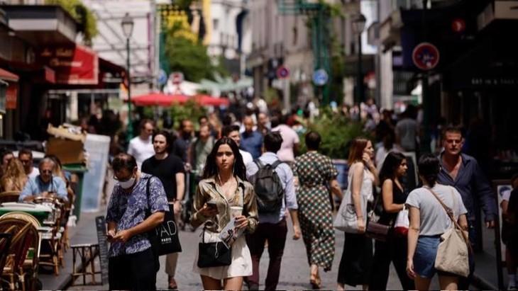 Nều kinh tế Eurozone đang tận hưởng sự khởi sắc trong mùa hè - Ảnh: EPA