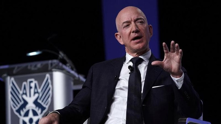 Ông Jeff Bezos, người sáng lập Amazon - Ảnh: Getty Images