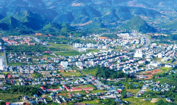 Dự án Khu đô thị thiên đường Mắc Ca tỉnh Lai Châu được thực hiện trên khu đất khoảng 41,657 ha thuộc huyện Tam Đường và TP. Lai Châu. Ảnh minh họa: NTA