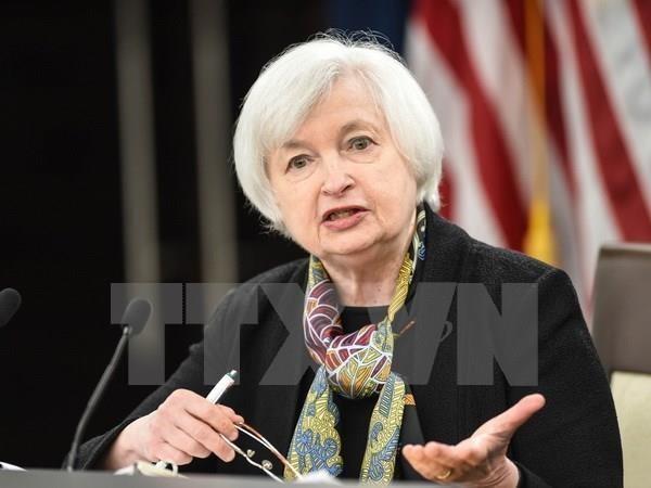 Bộ trưởng Tài chính Mỹ Janet Yellen. Ảnh: AFP/TTXVN