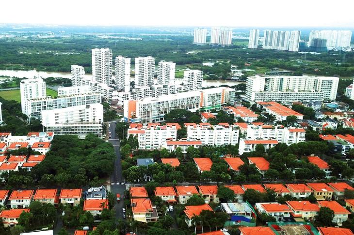 Lĩnh vực bất động sản đạt kết quả kinh doanh rất khả quan trong 7 tháng đầu năm nay. Ảnh: Lê Tiên