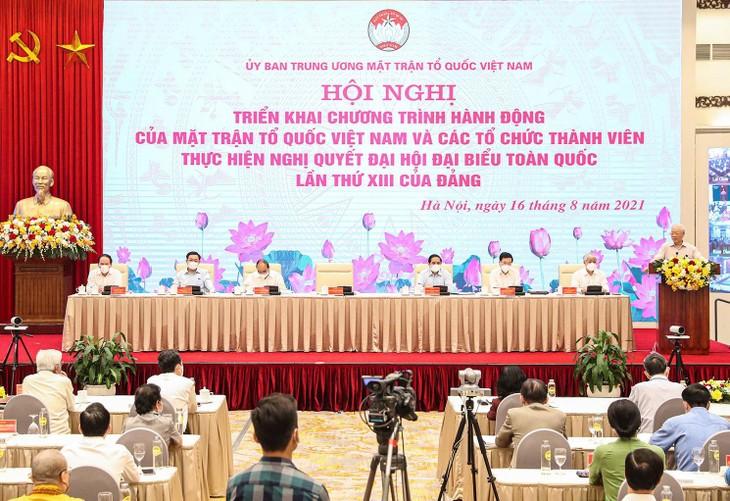 Tổng Bí thư Nguyễn Phú Trọng phát biểu chỉ đạo Hội nghị. Ảnh: Quý Bắc