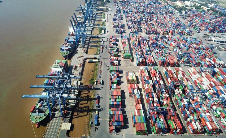 Hàng hóa nhập khẩu lưu giữ tại cảng Cát Lái đã được vận chuyển đến cảng biển khác trên địa bàn TP.HCM và các cảng cạn tại các tỉnh, thành phố khác. Ảnh: Lê Tiên