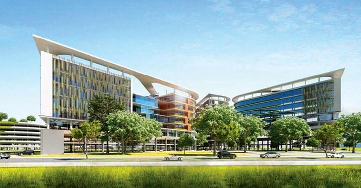 Dự án Bệnh viện Trường Đại học Y khoa Phạm Ngọc Thạch dự kiến được đầu tư theo phương thức PPP. Ảnh phối cảnh: Phú An