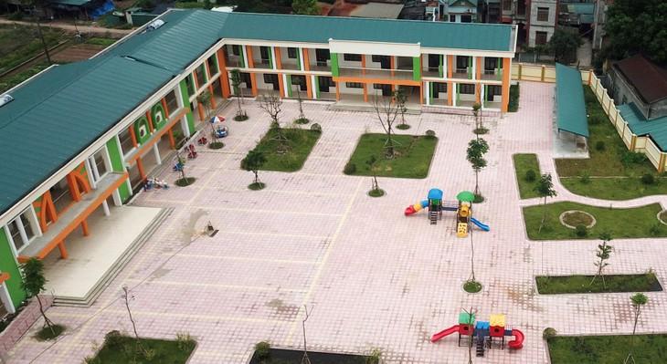 Gói thầu Xây lắp Trường THCS Nguyễn Viết Xuân (TP. Nha Trang) là công trình xây dựng dân dụng cấp III nhưng yêu cầu quá cao về nhân sự. Ảnh minh họa: Nhã Chi