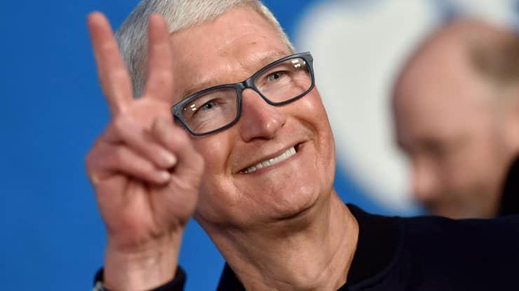 CEO Tim Cook của Apple - Ảnh: Getty/CNBC.