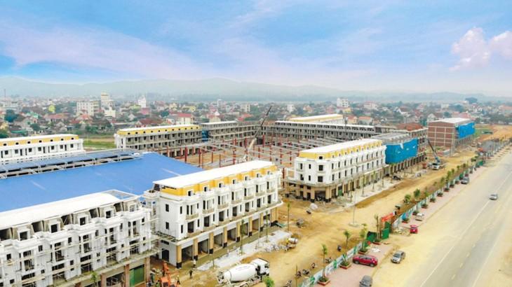 Dự án Khu đô thị Nam thị trấn Đô Lương được đầu tư trên khu đất 11,42 ha tại thị trấn Đô Lương và xã Yên Sơn, huyện Đô Lương, tỉnh Nghệ An. Ảnh minh họa: Văn Dũng