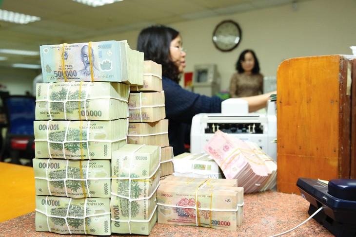 Tính đến 25/8/2021, tăng trưởng tín dụng của nền kinh tế đạt 7,06%. Ảnh: Lê Tiên