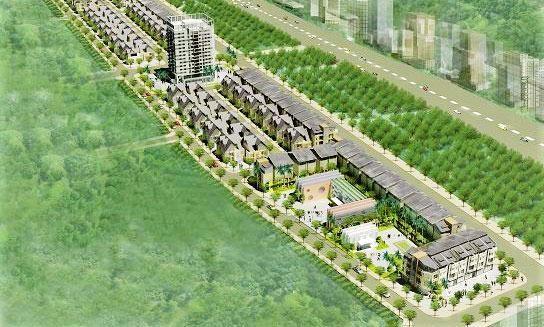Dự án Khu đô thị Bắc Nghi Kim và khu nhà ở trung tâm Nghi Kim được đầu tư tại 2 xã Nghi Kim, Nghi Liên, TP. Vinh, tỉnh Nghệ An. Ảnh: Phú An
