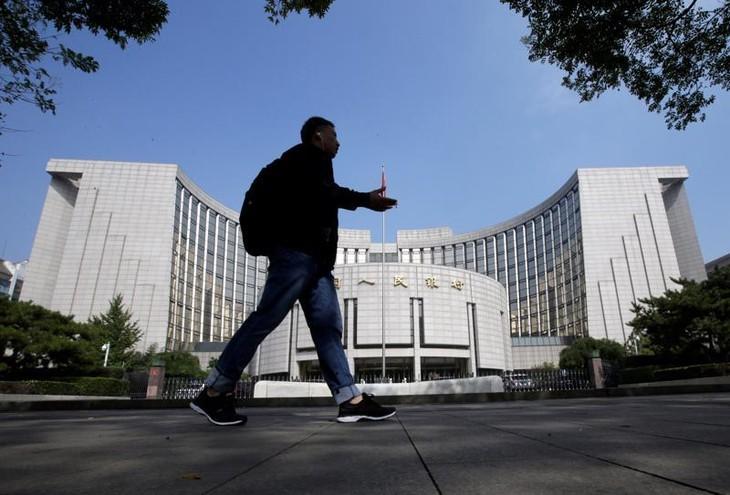 Trụ sở Ngân hàng Trung ương Trung Quốc (PBOC) ở Bắc Kinh - Ảnh: Reuters.