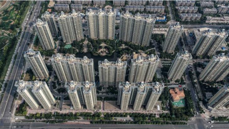 Một dự án của Evergrande ở Giang Tô, Trung Quốc - Ảnh: Getty/CNBC.