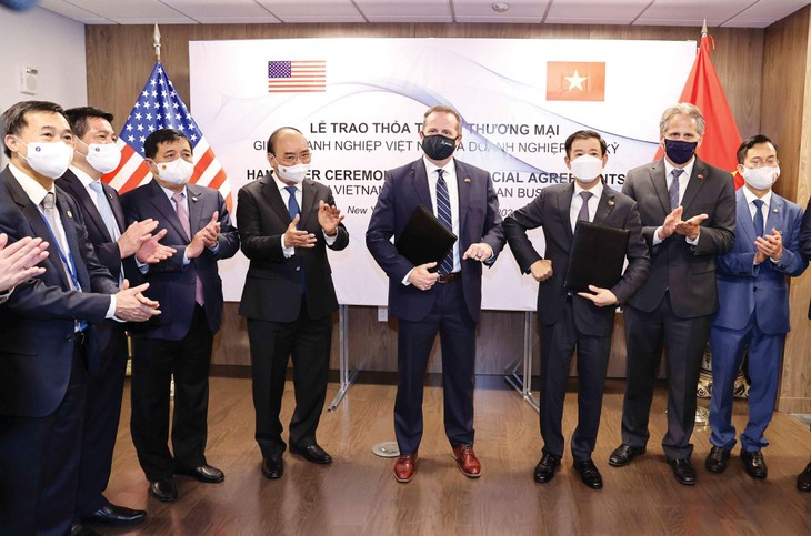 Kỳ vọng tăng tốc đầu tư Việt Nam - Hoa Kỳ