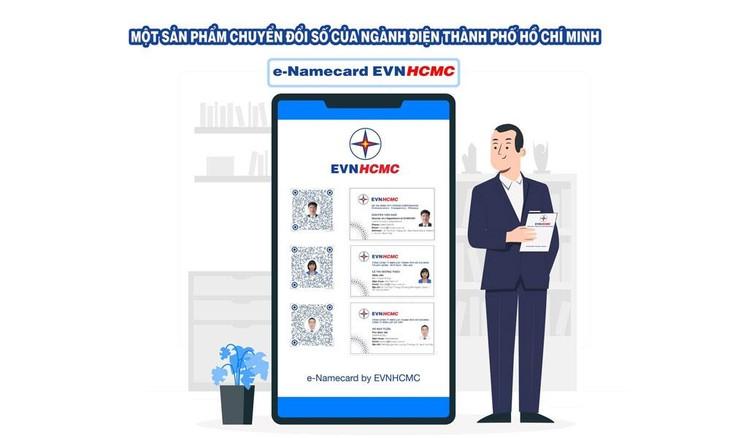 Danh thiếp điện tử e-Namecard - một sản phẩm chuyển đổi số của EVNHCMC