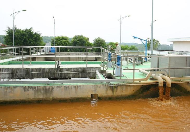 Gói thầu VY-CW04 Cung cấp và lắp đặt thiết bị cho nhà máy xử lý nước thải thuộc Hợp phần 2 Thoát nước và xử lý nước thành phố Vĩnh Yên (tỉnh Vĩnh Phúc) giai đoạn II. Ảnh minh họa: Nhã Chi