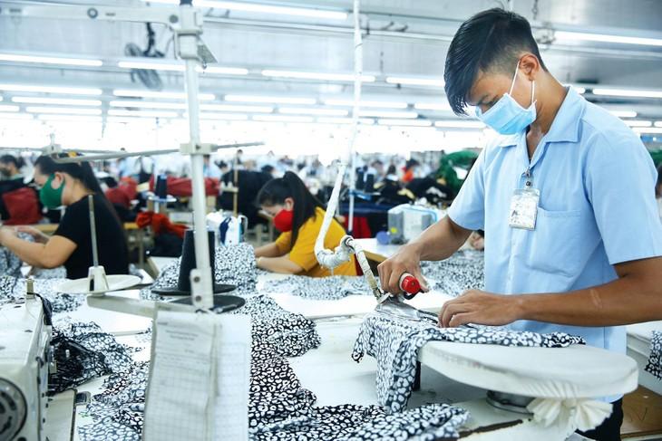 Dịch Covid-19 diễn biến phức tạp đã làm suy yếu sức chống chịu của doanh nghiệp Việt Nam. Ảnh: Lê Tiên