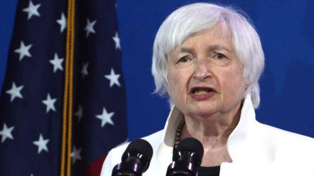Bộ trưởng Bộ Tài chính Mỹ Janet Yellen - Ảnh: BBC.