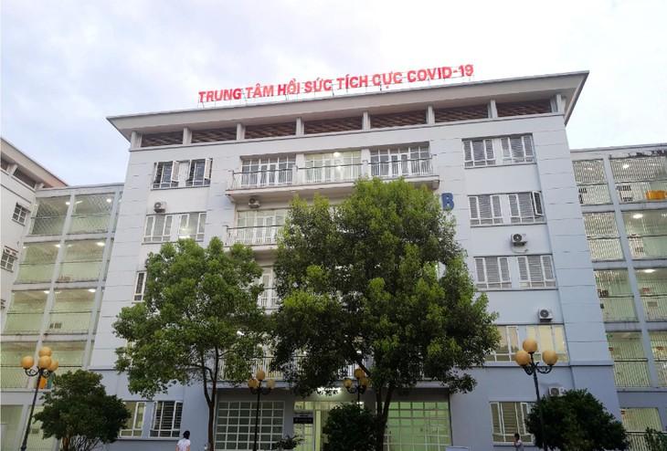 Trung tâm Hồi sức tích cực Covid-19 tại Bệnh viện Tâm thần Bắc Giang