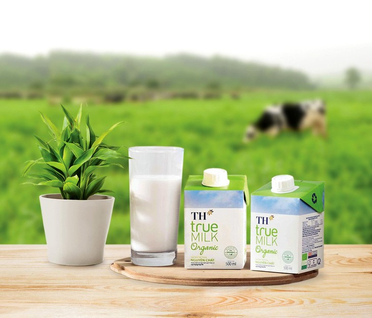 Thương hiệu sữa tươi sạch TH true MILK được đông đảo người tiêu dùng đón nhận