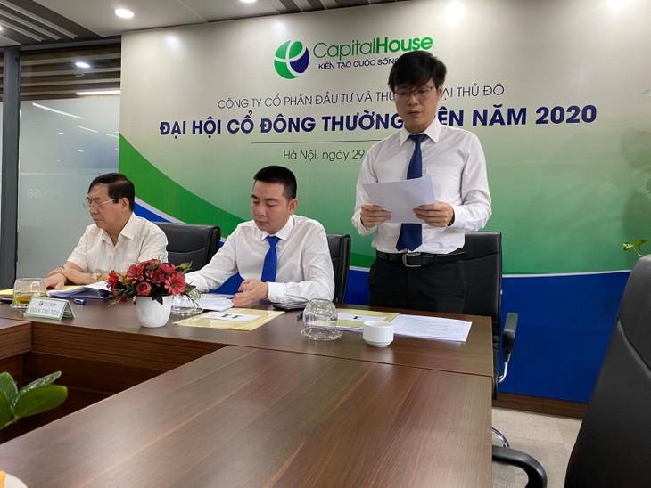 CapitalHouse muốn tìm chủ tịch thay ông Nguyễn Thành Trung