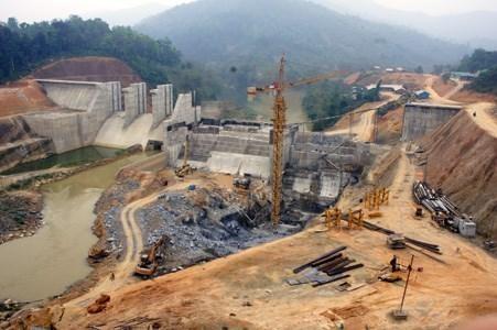 Dự án thủy điện Bắc Giang thi công thời điểm tháng 4/2011. (Ảnh: Báo Lạng Sơn)