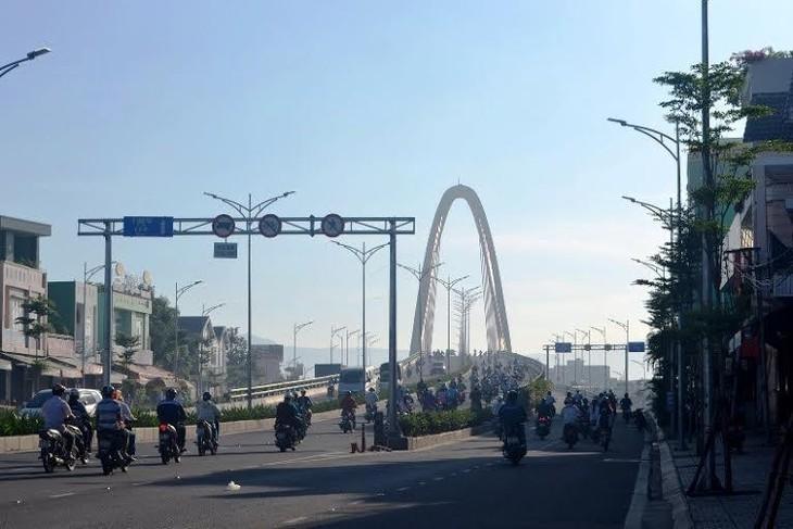 Công trình cầu vượt Ngã ba Huế được xây dựng theo hình thức BT do Tập đoàn Trung Nam chủ đầu tư