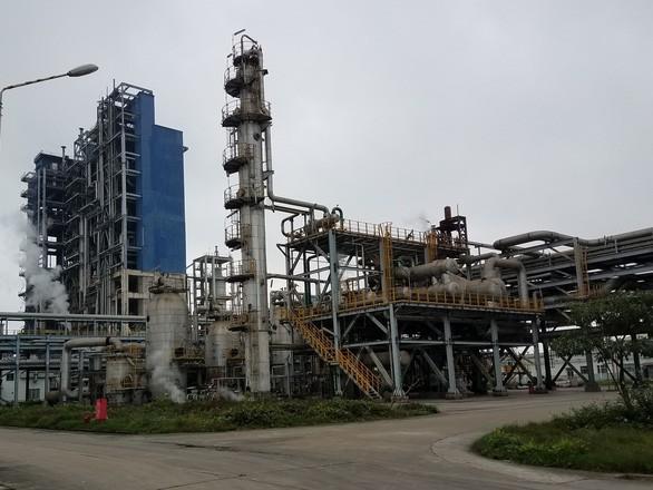 Một góc Dự án Nhà máy sản xuất phân đạm Ninh Bình. Ảnh: Internet